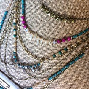 Chloe + Isabel long Casablanca Necklace.